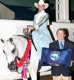 Mel -Side Saddle with awards